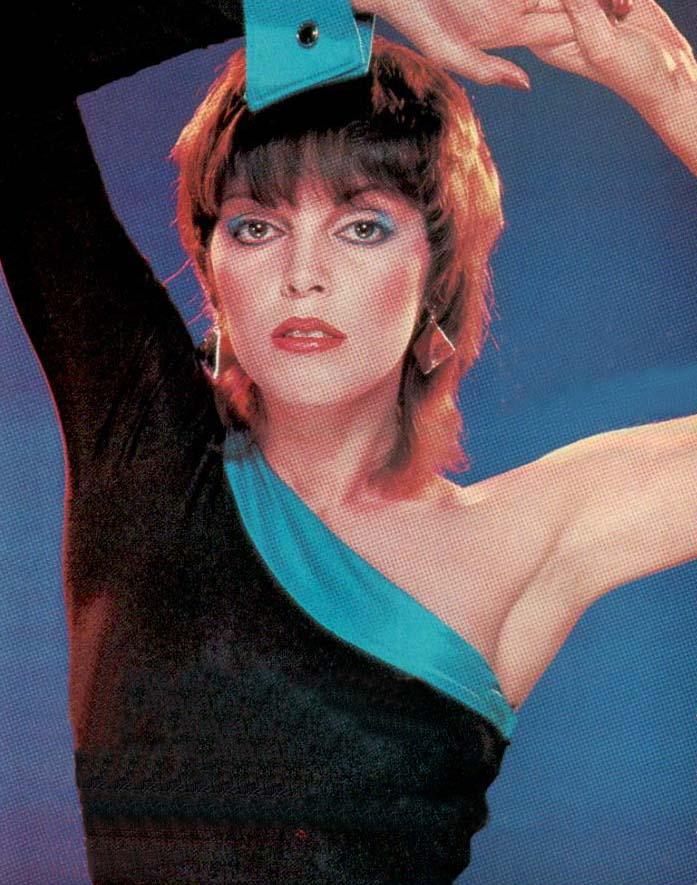 Pat Benatar 80s Fashion Photo dating from 1982.